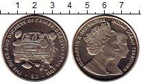 Изображение Монеты Британско - Индийские океанские территории 2 фунта 2012 Медно-никель UNC- Елизавета II.  Свадь