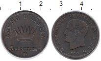 Изображение Монеты Италия 3 сентезимо 1810 Медь XF
