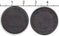Изображение Монеты Италия 3 сентезимо 1813 Медь VF