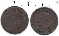 Изображение Монеты Италия 1 сентесимо 1812 Медь XF