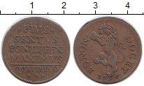 Изображение Монеты Ватикан 1 кватрино 1796 Медь XF