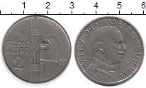 Изображение Монеты Италия 2 лиры 1925 Медно-никель XF+
