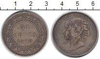 Изображение Монеты Ньюфаундленд 50 центов 1900 Серебро XF-