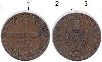 Изображение Монеты Германия Саксония 1 пфенниг 1865 Медь XF