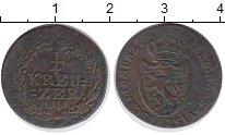Изображение Монеты Нассау 1/4 крейцера 1810 Медь XF-