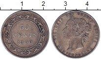 Изображение Монеты Канада Ньюфаундленд 50 центов 1900 Серебро XF-