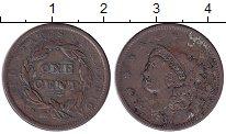 Изображение Монеты США 1 цент 1837 Медь VF