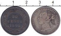 Изображение Монеты Канада Ньюфаундленд 50 центов 1898 Серебро VF