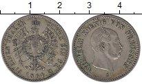 Изображение Монеты Пруссия 1/6 талера 1861 Серебро XF