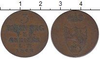 Изображение Монеты Германия Рейсс-Оберграйц 3 пфеннига 1828 Медь XF-