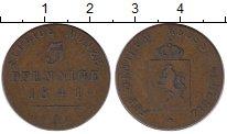 Изображение Монеты Германия Рейсс-Шляйц 3 пфеннига 1841 Медь VF