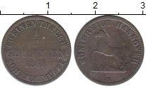 Изображение Монеты Германия Ганновер 1/2 гроша 1858 Серебро XF-