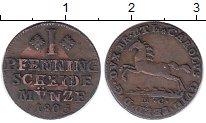 Изображение Монеты Брауншвайг-Вольфенбюттель 1 пфенниг 1805 Медь XF Карл Вильгельм Ферди
