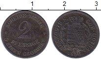 Изображение Монеты Германия Саксен-Кобург-Готта 2 пфеннига 1856 Медь XF-