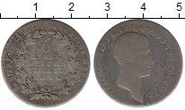 Изображение Монеты Германия Пруссия 1/6 талера 1812 Серебро VF