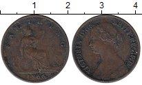 Изображение Монеты Великобритания 1 фартинг 1866 Бронза XF-