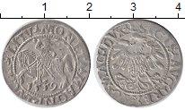 Изображение Монеты Литва 1 грош 1559 Серебро XF Сигизмунд II