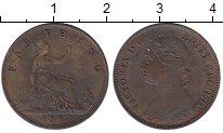 Изображение Монеты Великобритания 1 фартинг 1887 Бронза XF
