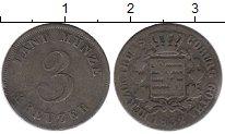 Изображение Монеты Германия Саксен-Кобург-Готта 3 крейцера 1832 Серебро XF-