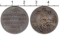 Изображение Монеты Германия Шлезвиг-Гольштейн 5 шиллингов 1801 Серебро VF
