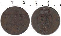 Изображение Монеты Германия Рейсс-Оберграйц 3 пфеннига 1829 Медь VF