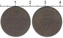 Изображение Монеты Польша 1 шиллинг 1810 Медь XF