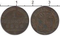 Изображение Монеты Германия Пруссия 1 пфенниг 1842 Медь XF