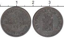 Изображение Монеты Гессен-Кассель 1 грош 1861 Серебро VF
