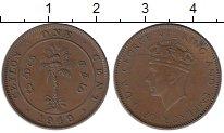 Изображение Монеты Шри-Ланка Цейлон 1 цент 1940 Бронза XF