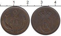 Изображение Монеты Дания 2 эре 1881 Медь XF