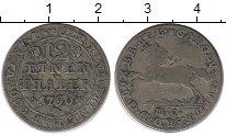 Изображение Монеты Германия Брауншвайг-Вольфенбюттель 1/12 талера 1790 Серебро VF
