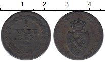 Изображение Монеты Германия Нассау 1 крейцер 1808 Медь VF