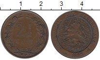 Изображение Монеты Нидерланды 2 1/2 цента 1883 Бронза VF