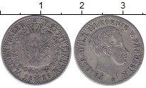 Изображение Монеты Германия Пруссия 1/6 талера 1826 Серебро XF