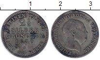 Изображение Монеты Германия Пруссия 2 1/2 гроша 1860 Серебро VF