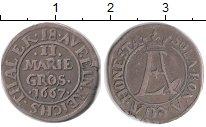 Изображение Монеты Оснабрук 2 гроша 1667 Серебро XF-