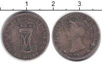 Изображение Монеты Италия Парма 10 сольди 1815 Серебро XF-