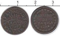 Изображение Монеты Италия Парма 1 сесино 1784 Медь VF+