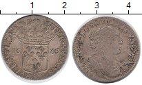 Изображение Монеты Франция 1/12 экю 1669 Серебро XF-