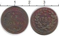 Изображение Монеты Италия Модена 1 сольдо 1783 Медь XF-