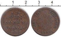 Изображение Монеты Италия Мантуя 1 сольдо 1736 Медь XF-