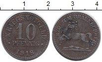 Изображение Монеты Германия : Нотгельды 10 пфеннигов 1918 Железо XF-