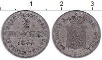 Изображение Монеты Германия Саксен-Кобург-Готта 2 гроша 1855 Серебро XF-