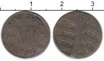 Изображение Монеты Саксен-Веймар-Эйзенах 6 пфеннигов 1790 Серебро XF-