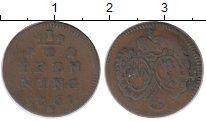 Изображение Монеты Германия Вюрцбург 1/2 пфеннига 1761 Медь VF