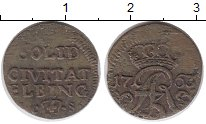 Изображение Монеты Пруссия 1 шиллинг 1763 Серебро VF