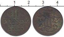 Изображение Монеты Германия Триер 2 пфеннига 1761 Медь VF