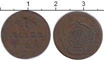Изображение Монеты Липпе-Детмольд 1 геллер 1809 Медь XF-
