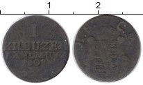Изображение Монеты Германия Саксе-Мейнинген 1 крейцер 1808 Серебро VF