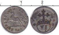 Изображение Монеты Брауншвайг-Вольфенбюттель 6 пфеннигов 1744 Серебро XF-